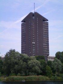 Phallic building, Riga