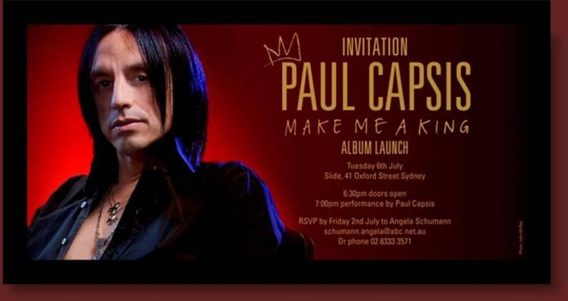 Paul Capsis CD Launch