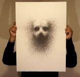 Vernon Ah Kee Unwritten, 2011 Offset lithograph, 70 x 50 cm Printer, Big Fag Press