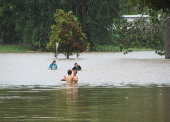 If I were the parents of these children swimming at North Lismore...