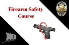Firearm Safety Class