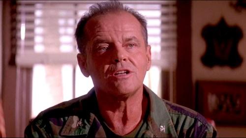 Jack Nicholson as Col. Nathan R. Jessup
