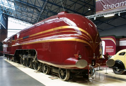 Duchess of Hamilton at the National Railway Museum