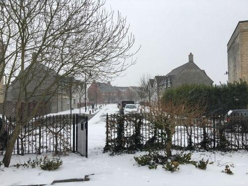 Snow in 2018