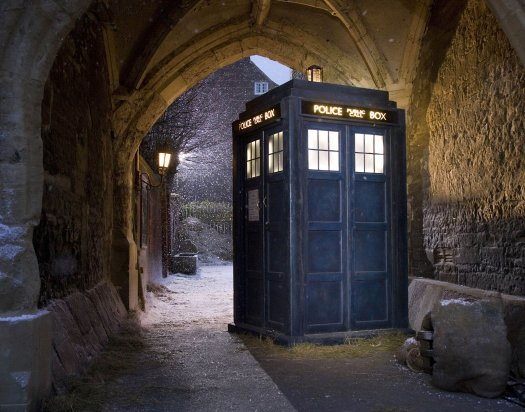 The Tardis. Credit: BBC