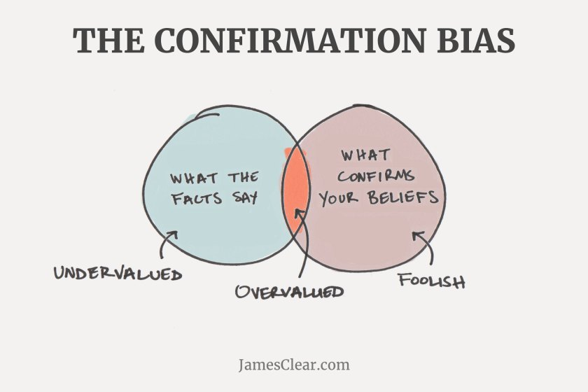 confirmation bias (Common Mental Errors)