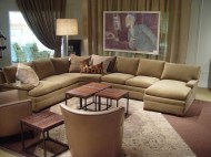 Contemporary sectional sofa from Lee Industries