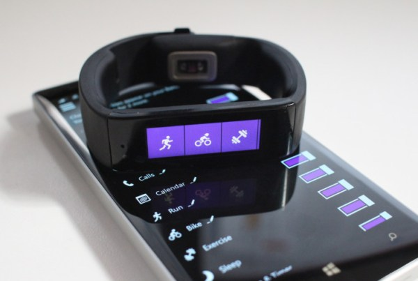 Microsoft Band Health Application