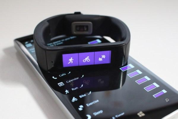 Microsoft Band Health Application