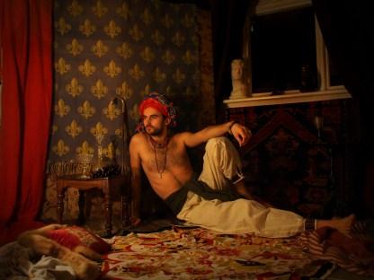 Persian Prince, self-portrait.