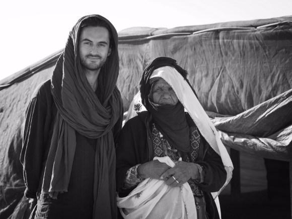 with Bedouin, Negev Desert, Israel