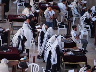 Praying Jews, Western Wall