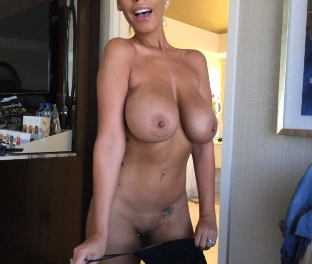 Big Boobs Blonde Latina Porn Star Bridgette B Poses Nude