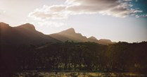 Sunset at Wilpena