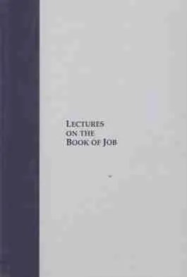 Lectures of Job by James Durham Puritan Scottish Covenanters Bible Commentary Job Naphtali Press Theology