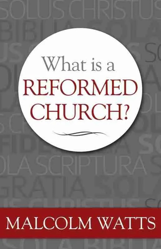 Malcolm Watts Reformed Church RHB Christian Books