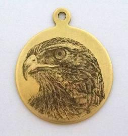 Student: Connie Vantuyl, Eagle Pendant