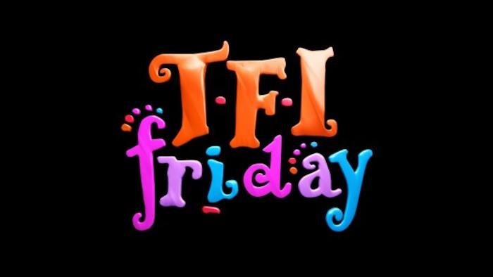 James on TFI Friday