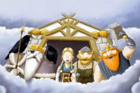 The Last Viking Returns: the Norse gods