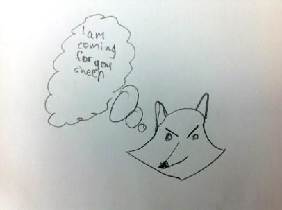Bevan the fox ...