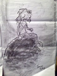 zombie mermaid (half-animal)