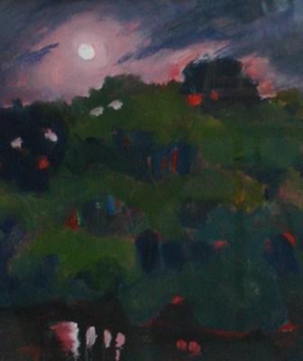 Moon over Brown Oak - James F.Moore
