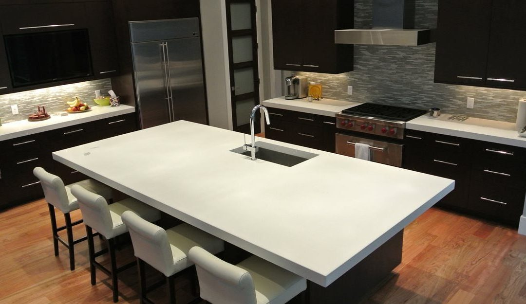 All About Concrete Countertops