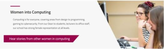 Women into Computing featured spotlight