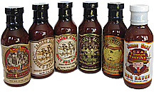 Variety BBQ Sauces