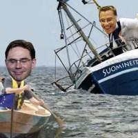 Arrivederci Finland: Jykä-rotta tekee oharin ja jättää uppoavan laivan