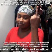 Kiitos ja ylistys Suomen somaleille!