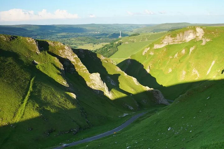 Winnats Pass - Peak District - With 84.5mm Medium ND Filter