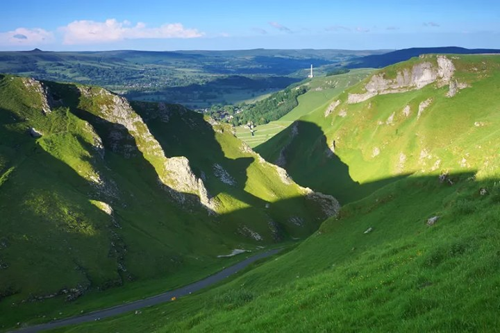 Winnats Pass - Peak District - With 84.5mm Medium ND Filter and Strong Classic Blue Filter