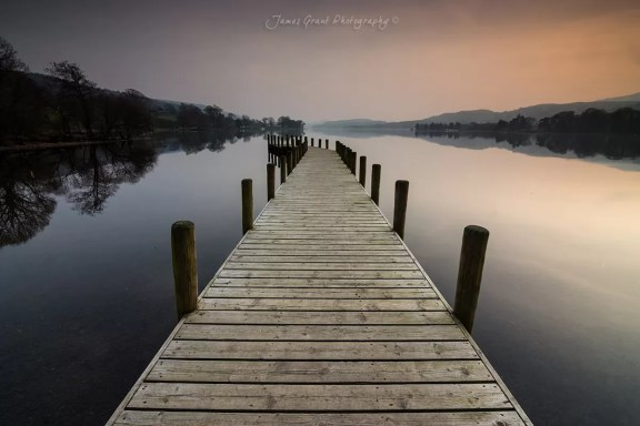 Classic Jetty at Coniston - Lake District Photography