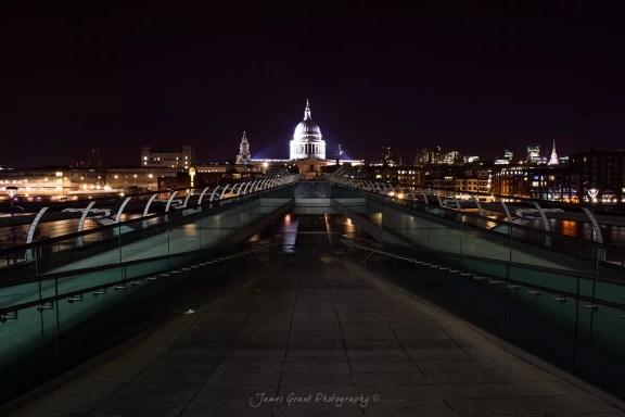 Millenium Bridge - St Pauls Cathedral - London