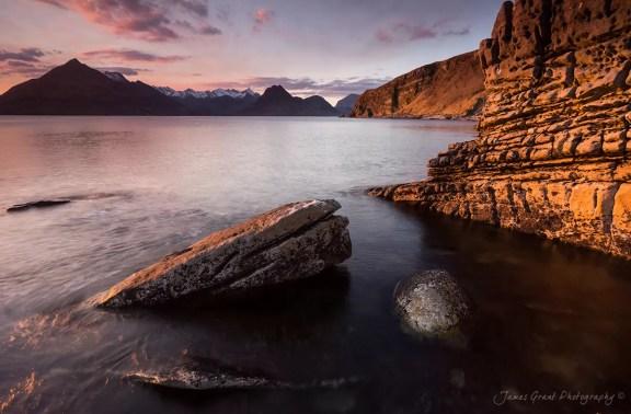 Elgol Sunset - Isle Of Skye - Scotland Photography