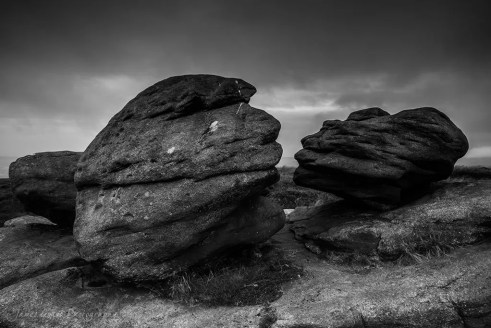 So Kiss Me - Kissing Stones - Bleaklow - Peak District Photography