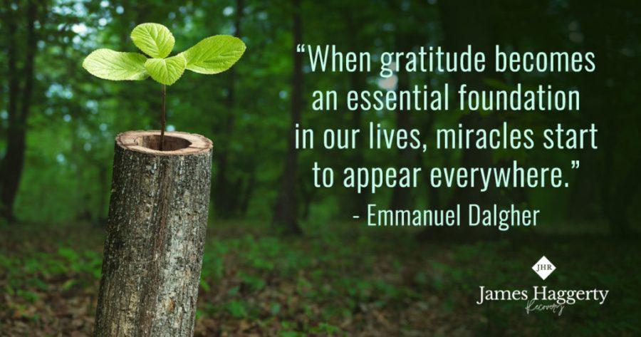 James Haggerty – Gratitude Quote