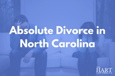 Absolute Divorce in North Carolina