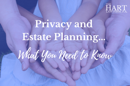 privacy and estate planning