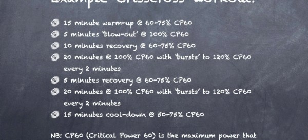 Crisscross example workout