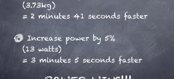 Power-Weight Comparison