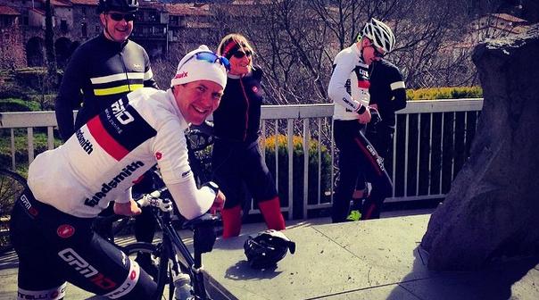 Girona pre-season road cycling training
