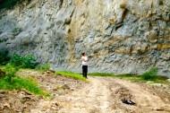 Lahar deposit from Cerro Machin.