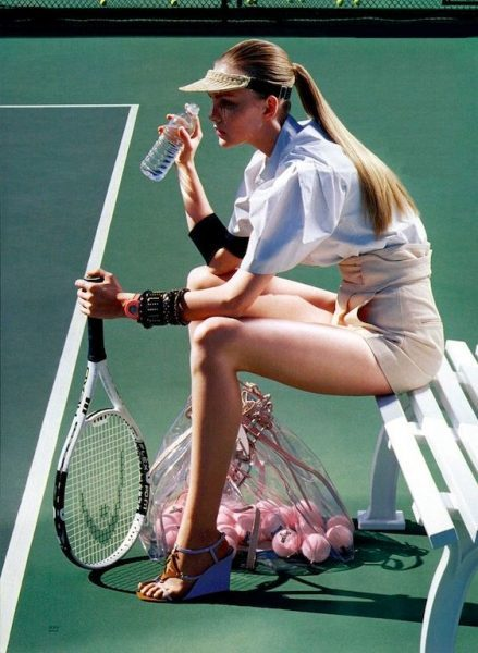 Sports Inspired Fashion by Miles Aldridg Vogue