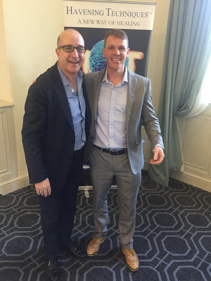 James Hymers Windsor Havening therapist with Paul McKenna