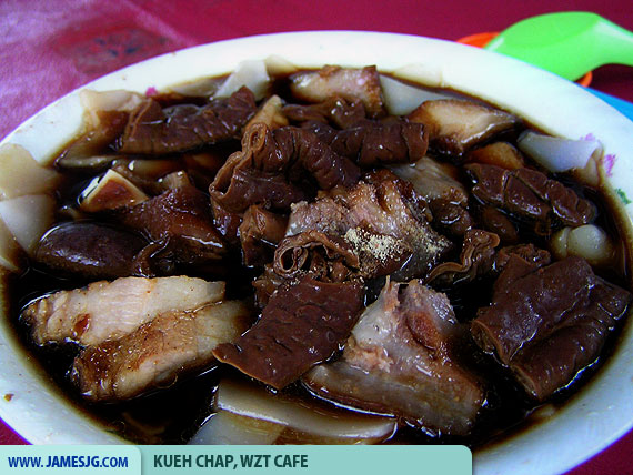 Kueh Chap, WZT Cafe