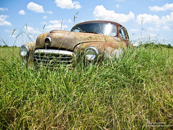 Abandoned 1950 Nash Airflyte