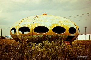 Abandoned Futuro House Found in Royse City Texas