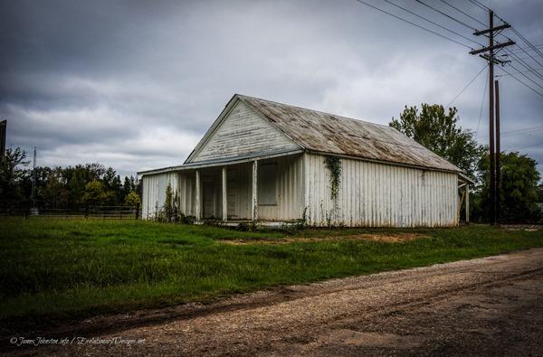 Abandoned building in Jonesville, Texas